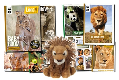 WWF Adopt an Animal Gift Pack